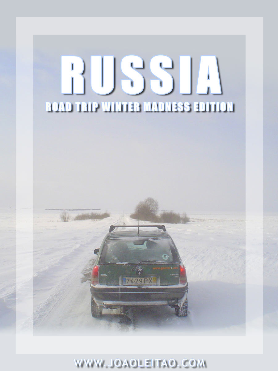 Driving in Russia - Winter road trip Madness Edition
