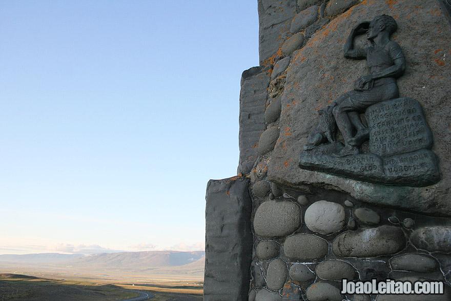 Visit Stephan G Stephansson Icelandic Canadian Poet Monument Northwestern Region Iceland