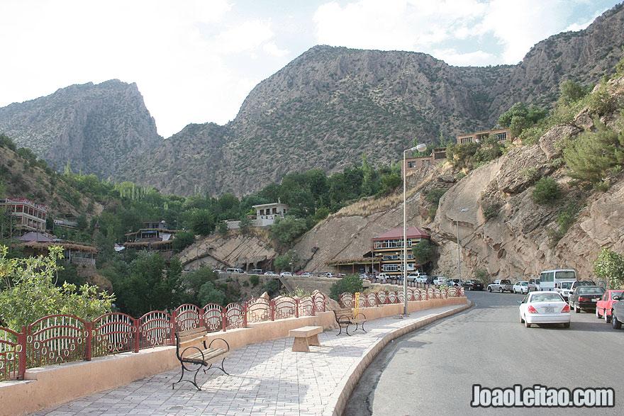 Sulav resort near Amadiyah Iraq Kurdistan