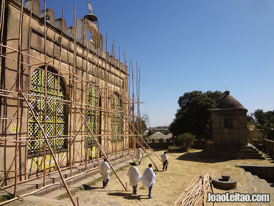 Church of Our Lady Mary of Zion in Axum, Ethiopia