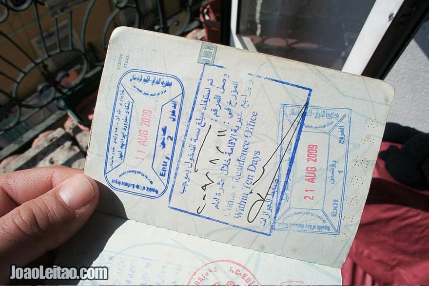 Visa to the Kurdistan Region of Iraq Republic
