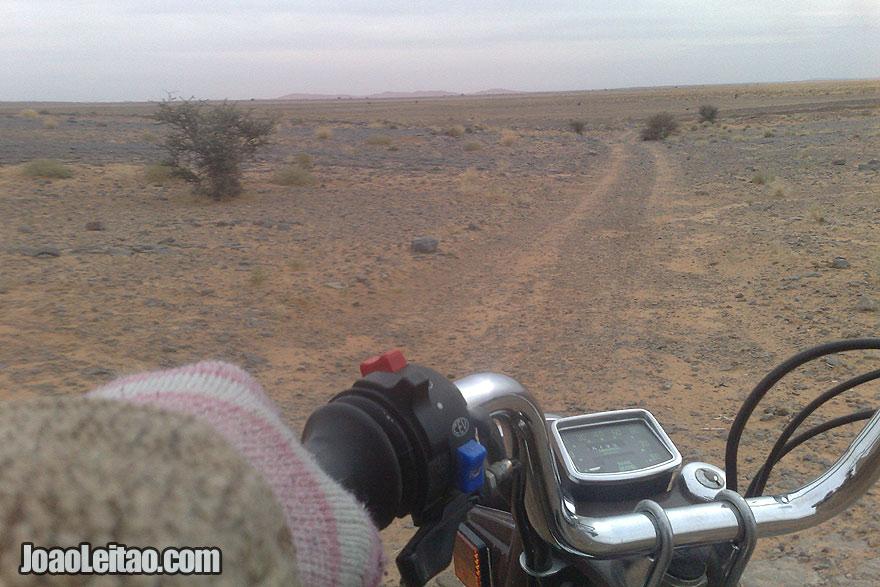 Motorcycle Diaries in Sahara Desert
