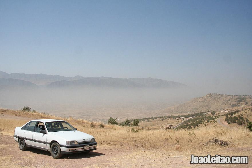 Road trip in Northern Iraq