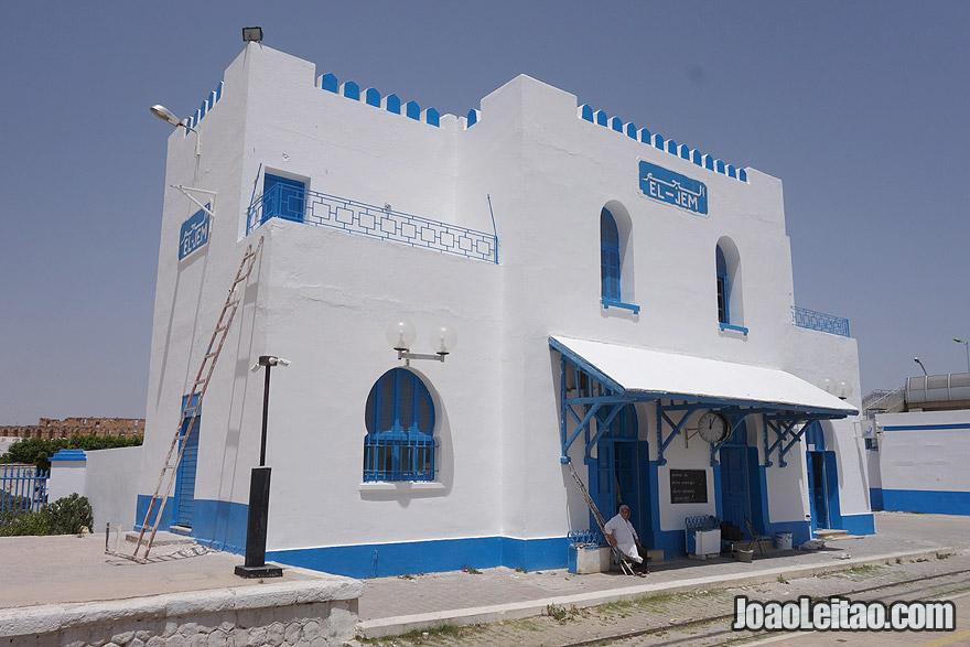 El-Jem train station