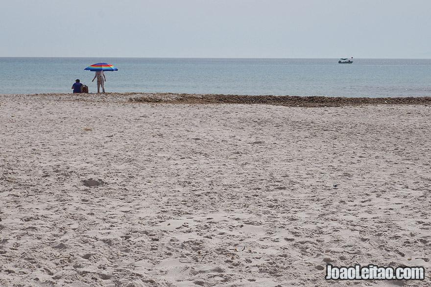 El Mansoura Beach in Tunisia