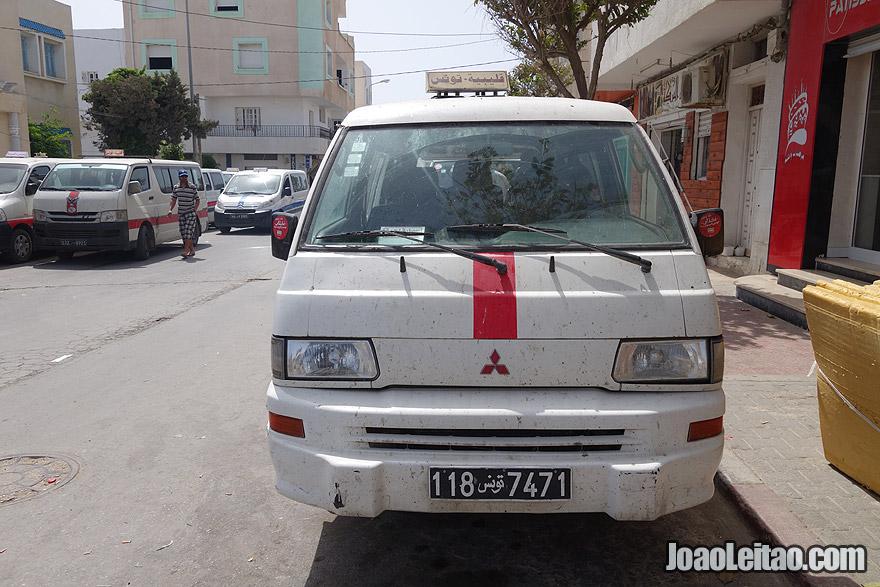 Louage van Kelibia to Tunis