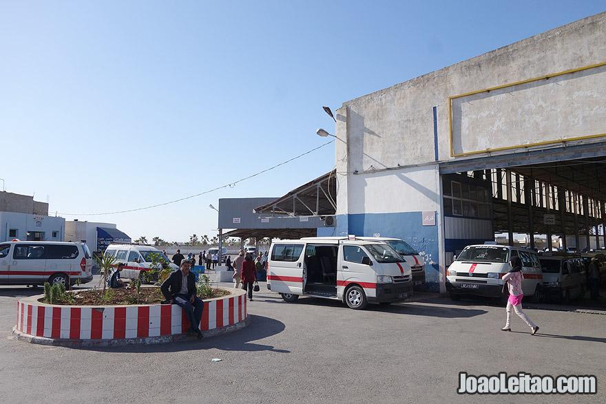 Louage van Sousse to Kairouane