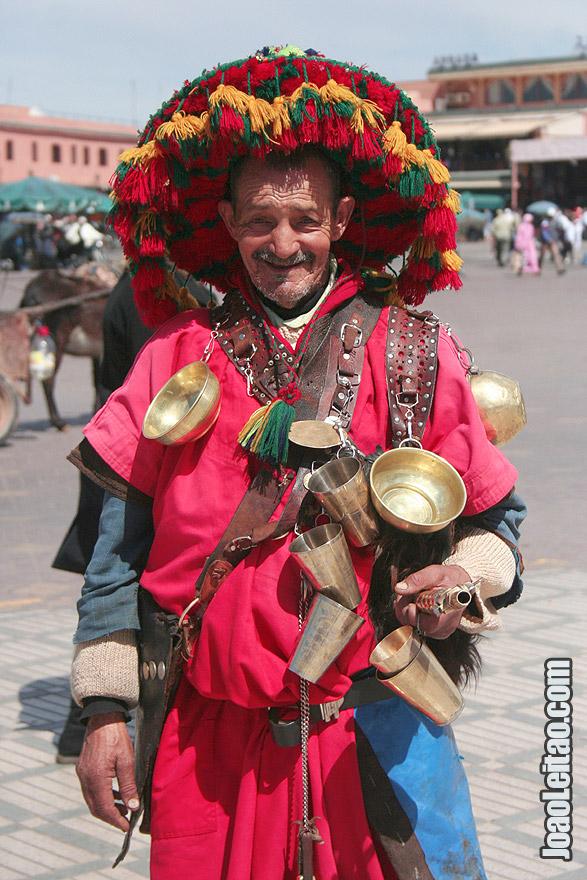 Water seller of Marrakesh