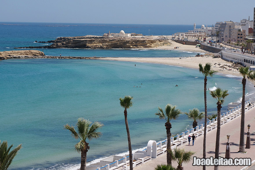 Monastir Beach in Tunisia