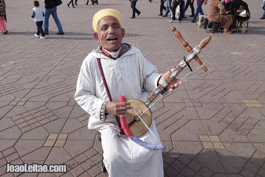 Musician of Marrakesh