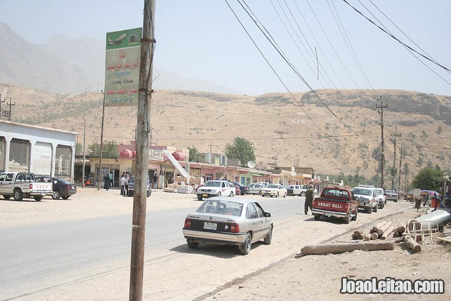 Deralok town in Northern Iraq