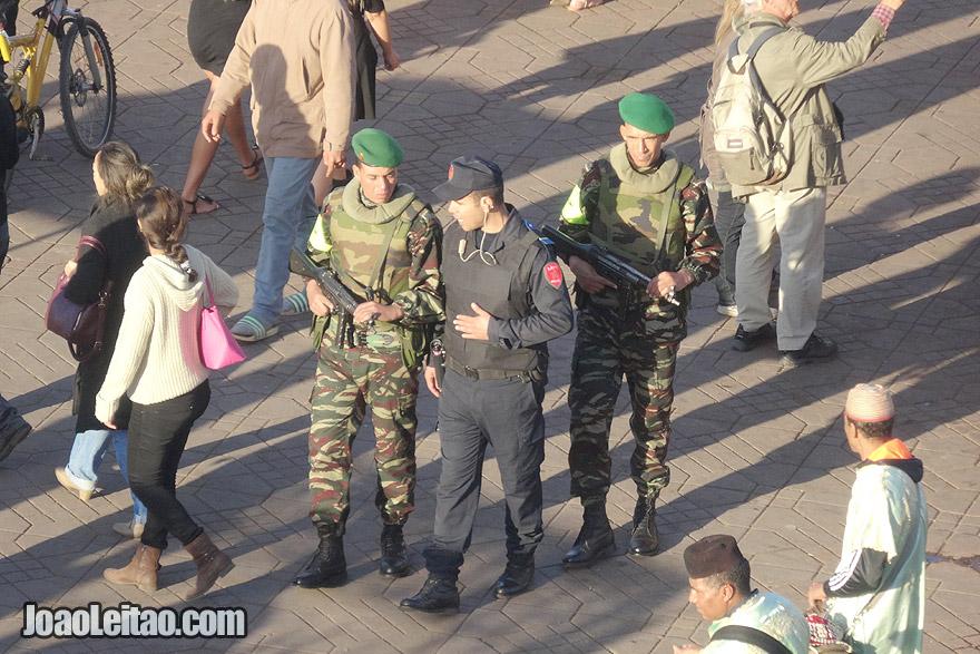 Police of Marrakesh