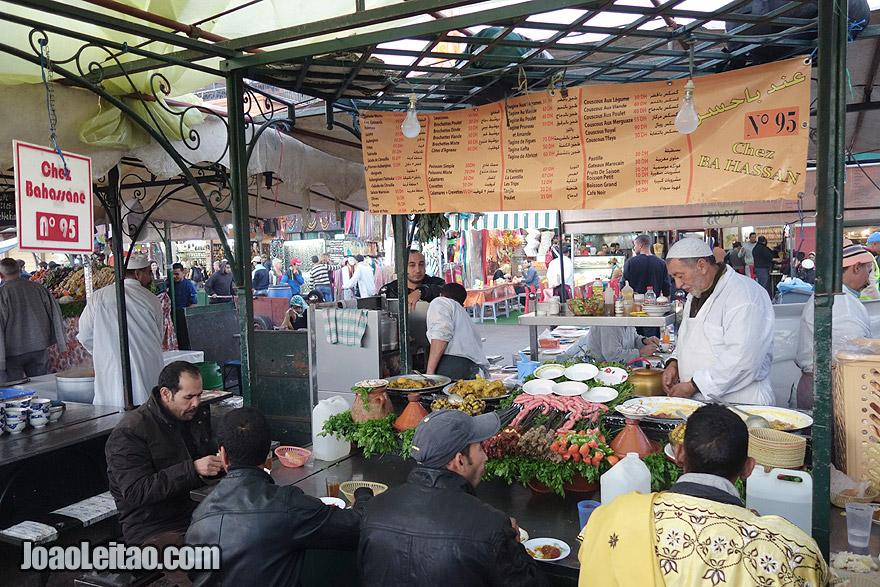Restaurants of Marrakesh