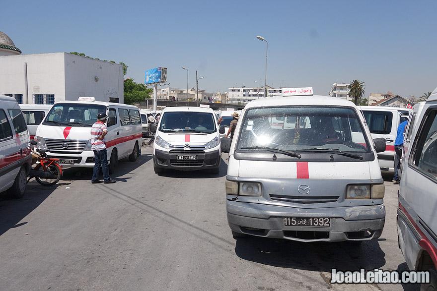 Louage van Tunis to Kelibia