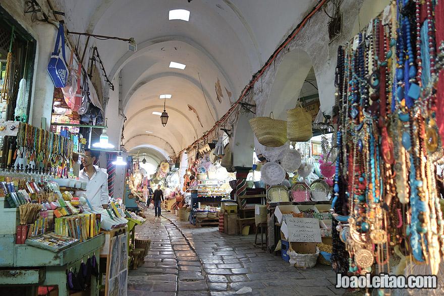 Tunis medina in Tunisia