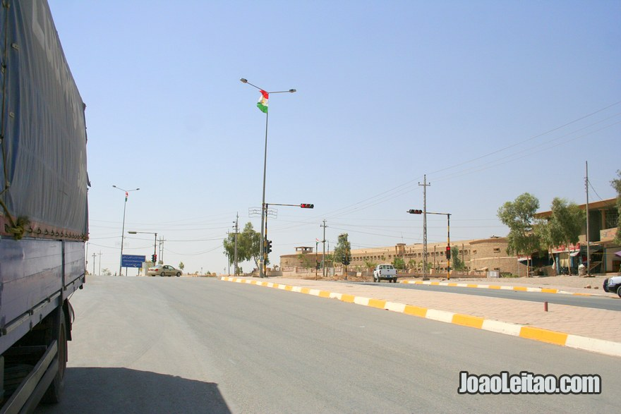 Hitchhiking in Iraq