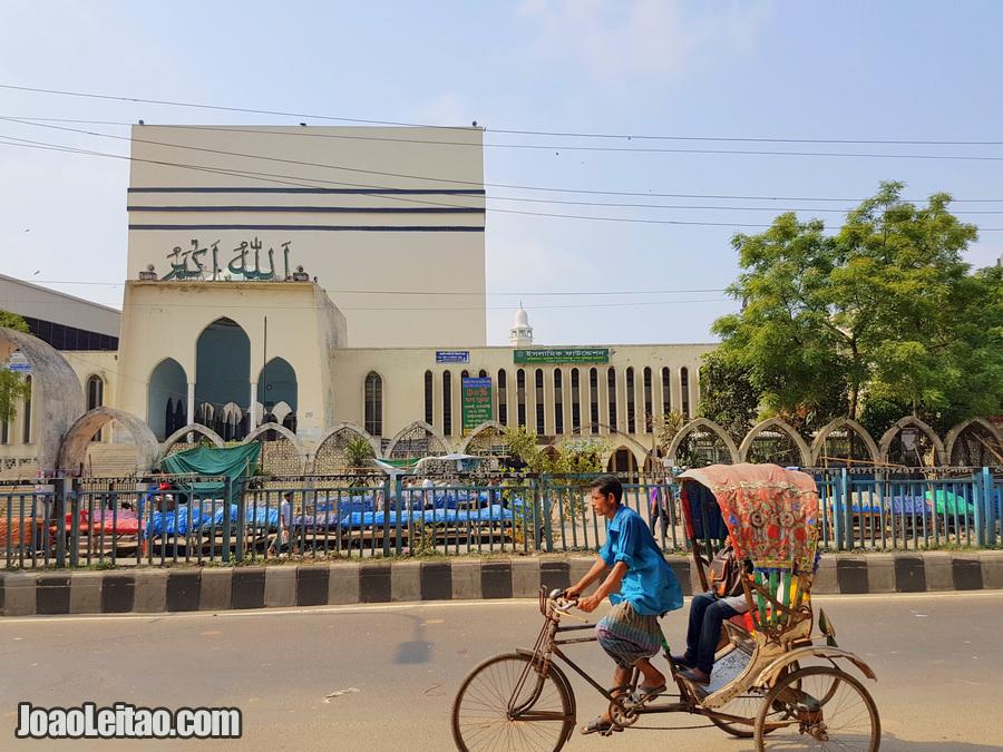 Mesquita de Baitul Mukarram em Daca