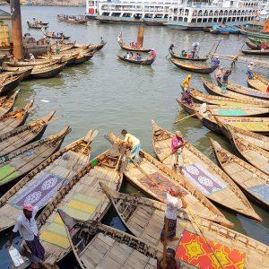 Dhaka Sadarghat Port