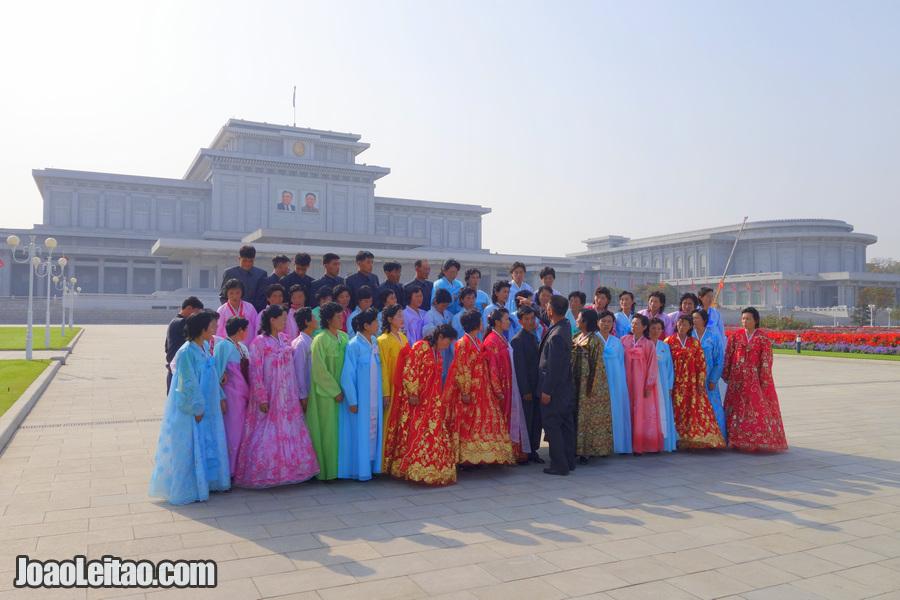 Palace of the Sun Kumsusan - Pyongyang