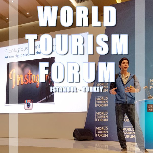 Travel Blogger participation at the World Tourism Forum in Istanbul