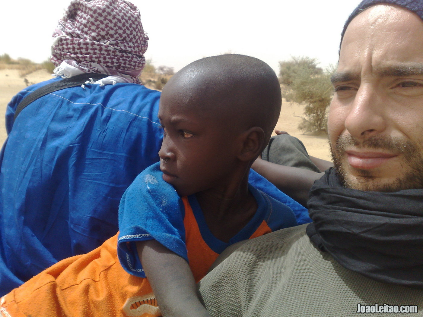 MY NEW FRIEND ON THE WAY TO TIMBUKTU IN NORTHERN MALI