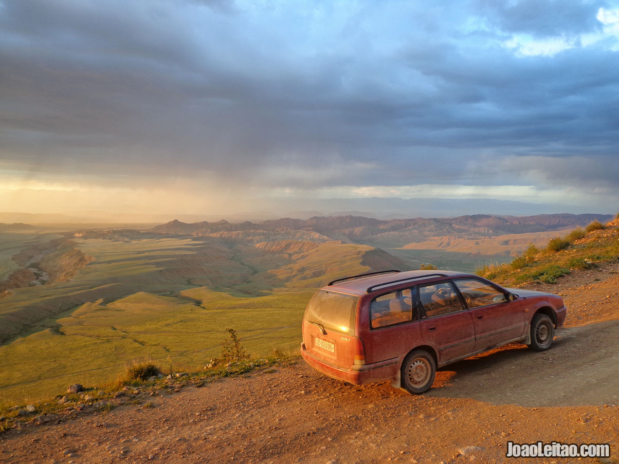 TRAVEL AND DRIVE (Nissan Primera in  Kyrgyzstan)