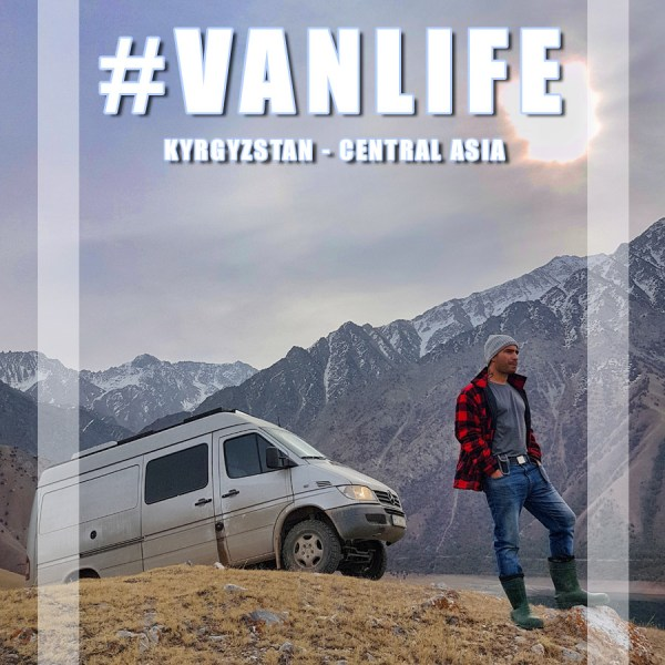 #Vanlife in Kyrgyzstan – Travel in Central Asia with a campervan