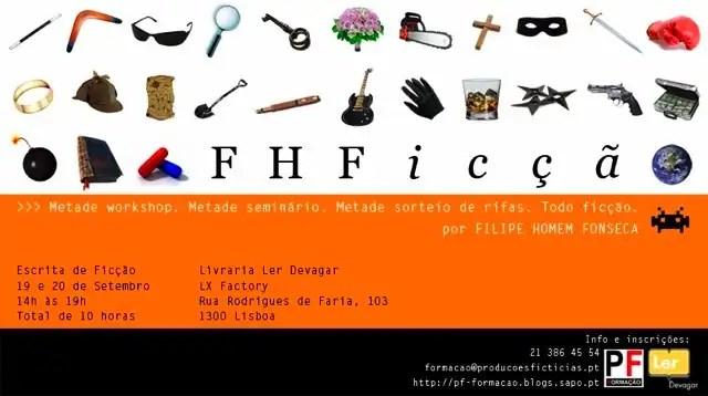 You are currently viewing Seminário de escrita de Filipe Homem Fonseca