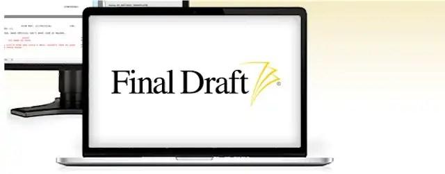 You are currently viewing Final Draft lança nova versão