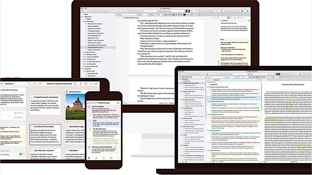 You are currently viewing Programa de escrita Scrivener chega à versão 3.0