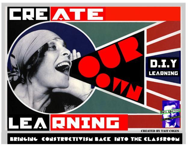 Poster de Construtivismo e aprendizagem livre