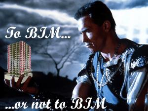 To BIM or not to BBIM, introdução ao BIM, Terminator