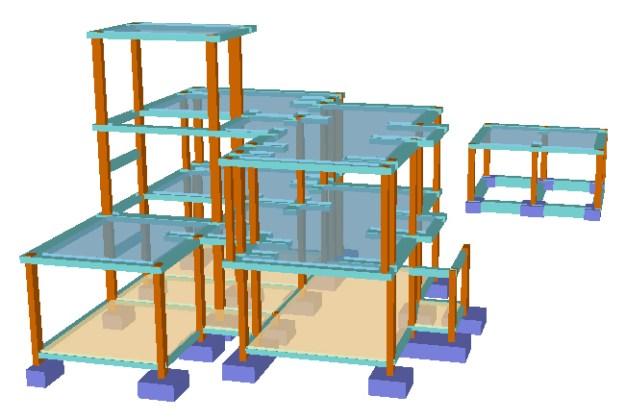 estruturas de betão