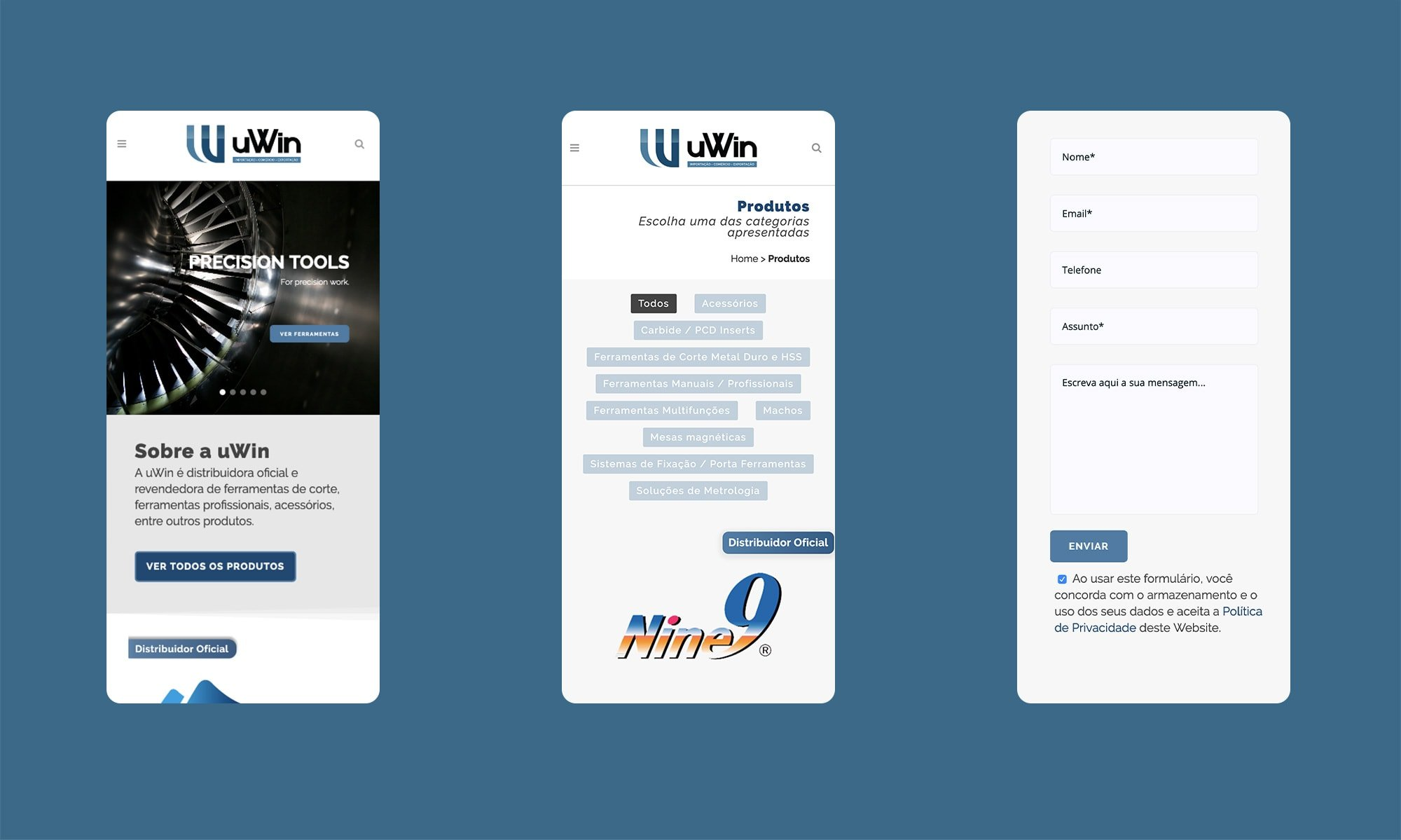 Mobile Friendly - uWin - wordpress website