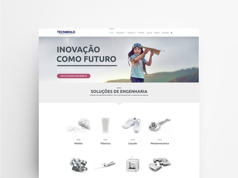 Web Design and Development - Tecnirolo | Web Designer - João Santos