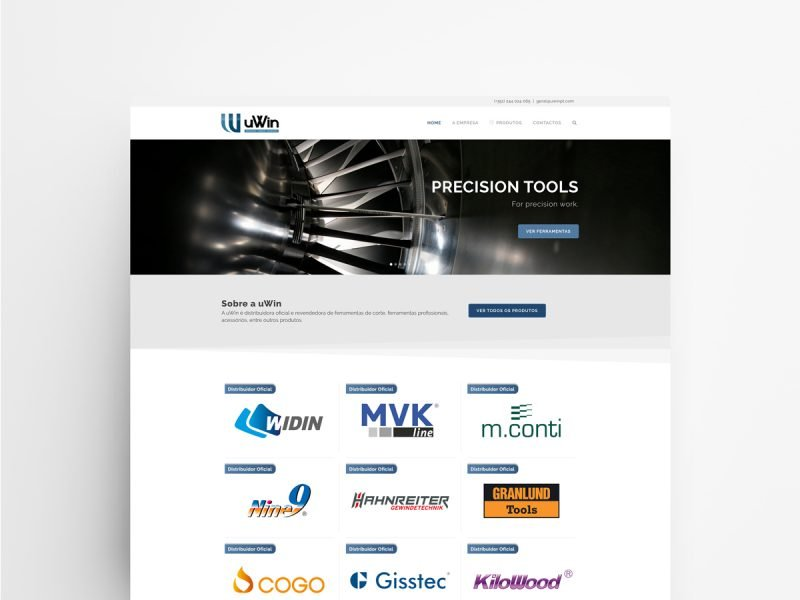 Web Design and Development - uWin | Web Designer - João Santos