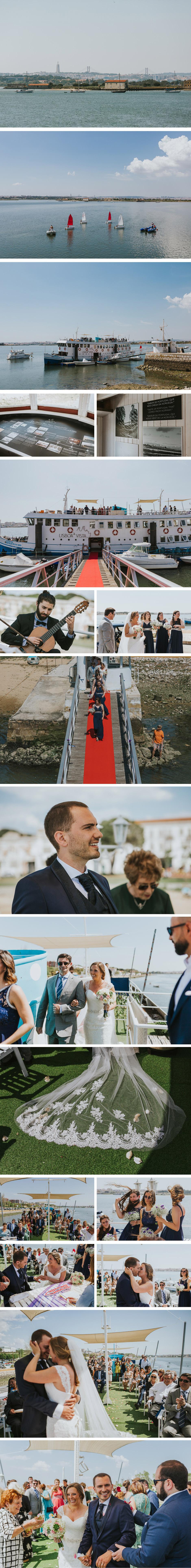 Wedding on a boat | Casamento num Cacilheiro @ Lisboa