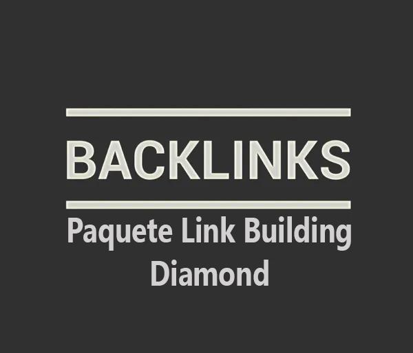 Paquete link Building Diamond