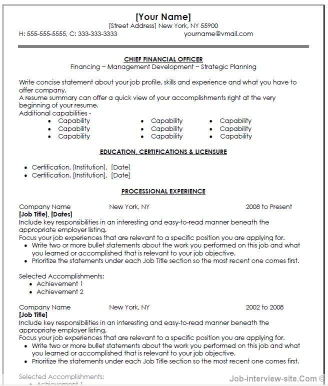 resume statement for customer service