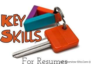 Resume Skills List Of Skills For Resume Sample Resume