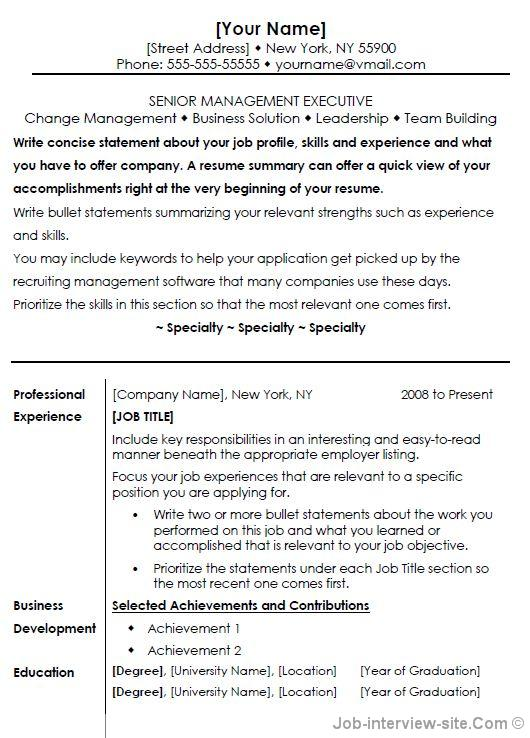 resume templates office