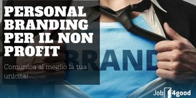 personal branding per il non profit 4good academy