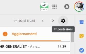 inserire firma gmail 1