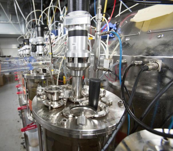 Laborant biogass instrumenter