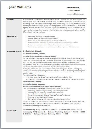 Free targeted CV Template Zone | JobFox UK