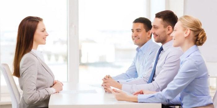 proper posture during job interview