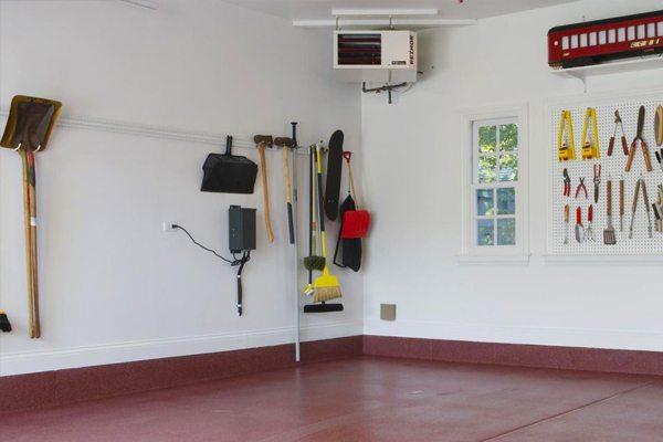 Garage heaters install sales service and maintenance in saskatoon