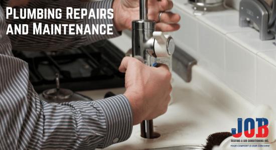 Plumbing Repairs and Maintenance JOB Heating and Air Conditioning Saskatoon