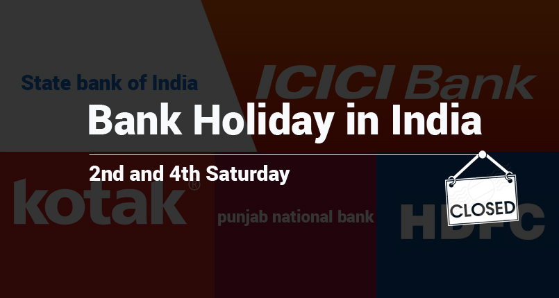 Bank Holiday On 2nd And 4th Saturday – Joblagao Com