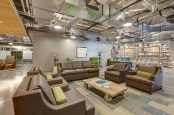 Oficinas zappos salas de reunión